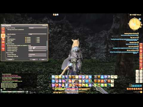 Final Fantasy XIV: [FPS Fix] - How to get solid 60 FPS