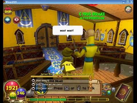 Wizard101 Wolf Dune Learns Minotaur Minion