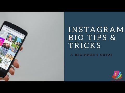 how to write a perfect instagram bio||Instagram bio tricks 2018