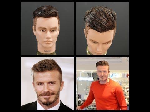 David Beckham NEW 2014 Haircut Tutorial | TheSalonGuy