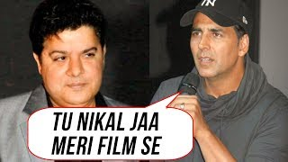 Akshay Kumar SACKS Sajid Khan From Housefull 4| Twinkle Khanna Angry Reaction