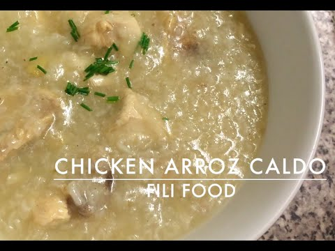 Chicken Arroz Caldo | Filipino Chicken Soup
