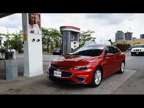 2018 Chevrolet Malibu - Fuel Economy Review + Fill Up Costs