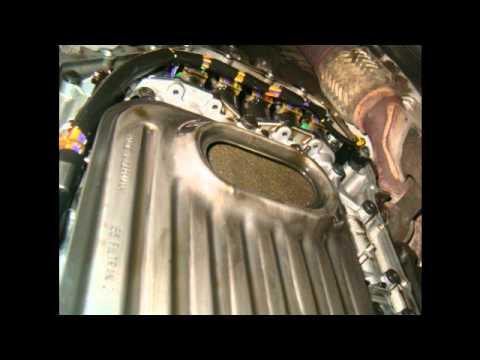 volksvagen passat 2001, cambio de aceite y filtro de la transmision