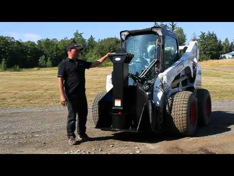 PD-550 Post Pounder Attachment for Skid Steer Loader - Introduction