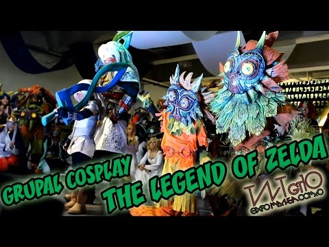 Grupal Cosplay: The Legend of Zelda, en TNT Gt10