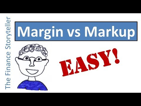 Margin versus Markup