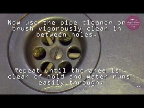 How to clean German sinks and stainless steel sinks.