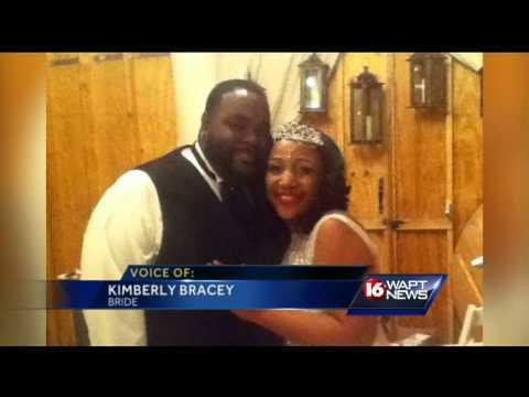 A bride's wedding dress is stolen
