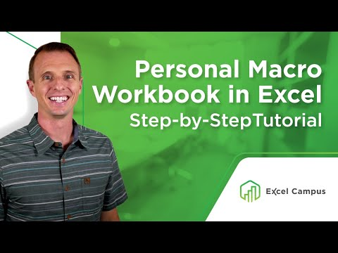 How to Create a Personal Macro Workbook in Excel and Why You Need It (Part 1 of 4)