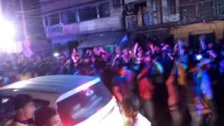 Domjur Bandar Bagpara  KALI PUJA PROCESSION ORGINAL DJ 2016 part 2 (Post By Sourav Bag)