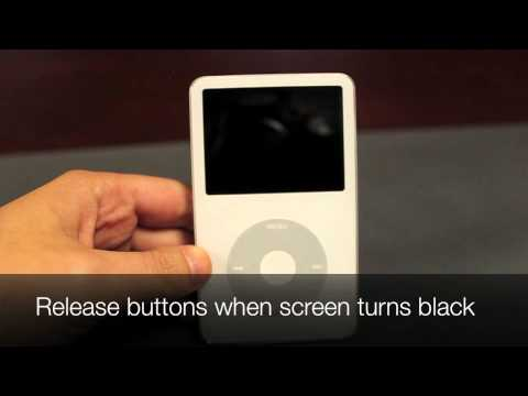 How to Restart an iPod Classic