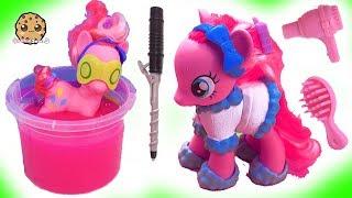 My Little Pony Slime Bath , Spa Day Salon - Cookie Swirl C Toy Video