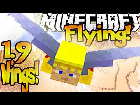 How To Fly In MineCraft 1.9 Vanilla! (How To Get Elytra Wings)