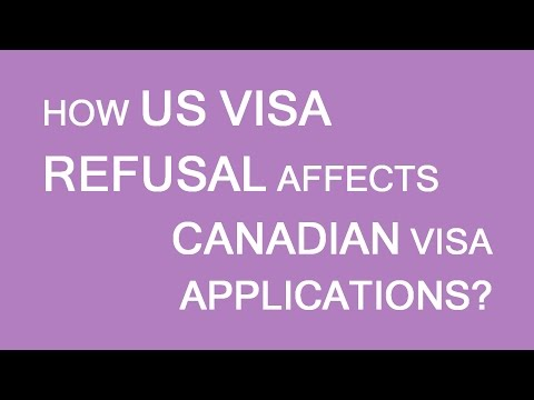 How US visa refusal affects Canadian visa