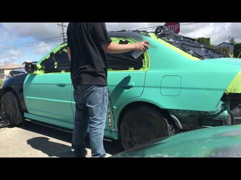 How to paint your car with rattle cans