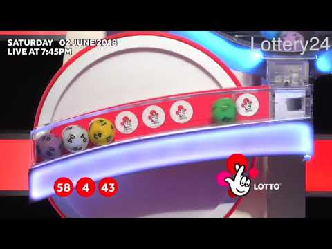 2018 06 02 UK lotto Numbers and draw results