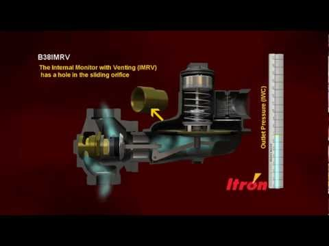 Itron's B38IMRV Natural Gas Regulator