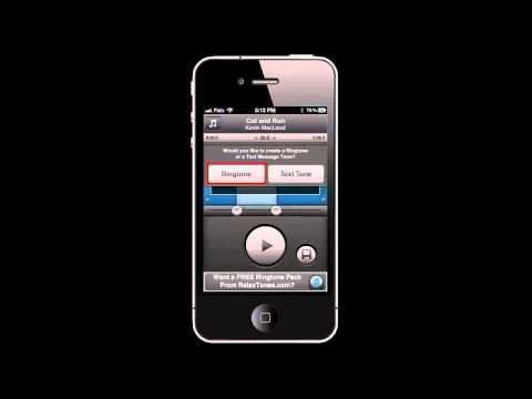 How to MAKE RINGTONES on iPhone 5, 4S, 4, 3GS using Ringtone Designer