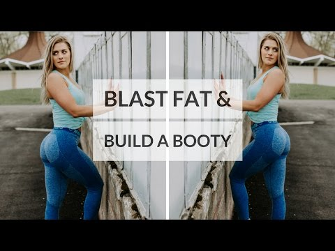 Build A Booty While Blasting Fat | LEG & HIIT WORKOUT