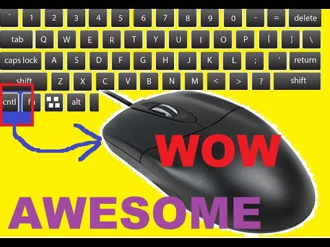 Computer Mouse awesome Trick