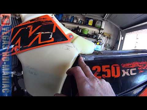 How to slide the air booth over the Carburetor the