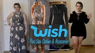 Wish Haul & Try On #6 | Plus Size Clothing + Accessories