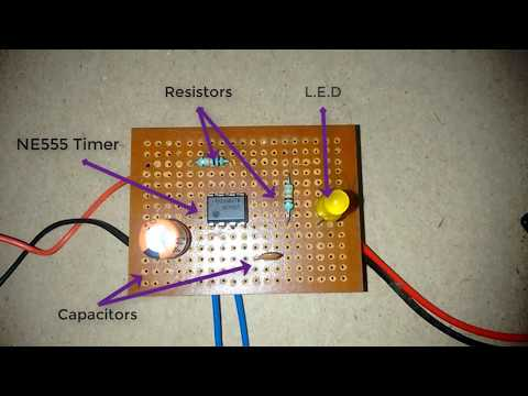 How to Make Touch Sensor by Using 555 Timer