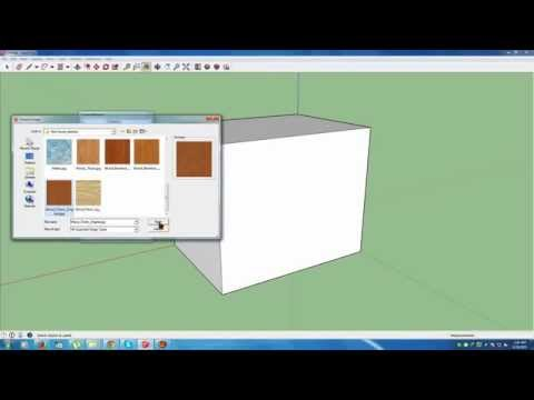 how to make material  textures in google sketchup