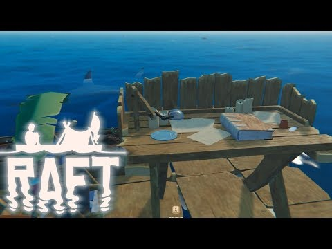 RAFT Full Release Gameplay - Automatic Loot Collection & First Shark Kill!! #2
