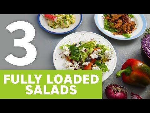 3 fully loaded salads [BA Recipes]