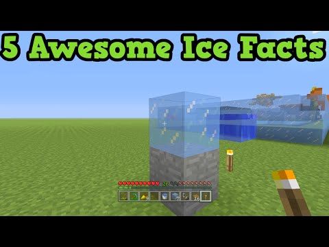 Minecraft Xbox 360 + PS3 - 5 Ice Facts