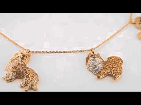 Dog Lovers Necklace - Choose a Dog Breed