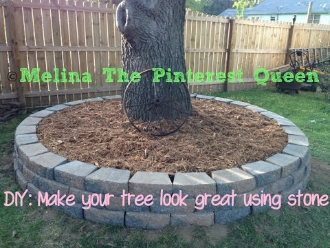 DIY: Stone To Go Around Your Tree