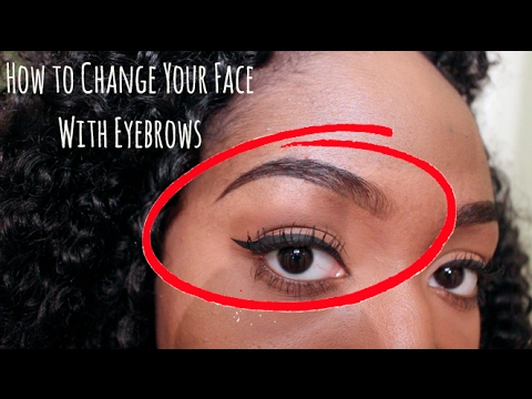 9 Ways to Change Your Face With Eyebrow Shapes