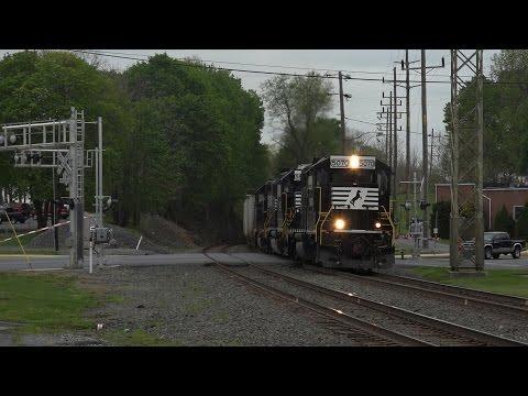 Two Trains Meet - Vehicle Breaks Crossing Gate