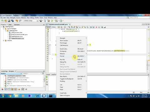 Java Fxml Table Pagination