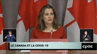 Federal ministers and health officials provide COVID-19 update – March 27, 2020