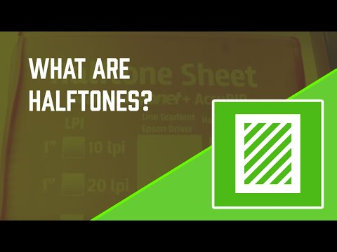 How to Screen Print: What are Halftones?