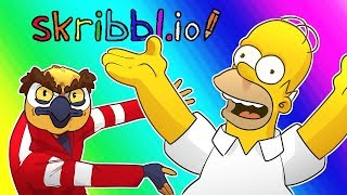 Skribblio Funny Moments - I