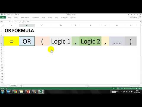 Understanding AND OR Functions | How to use AND, OR formulas in Excel