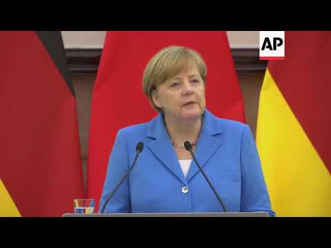 Merkel and Li on free trade and Iran nuclear deal