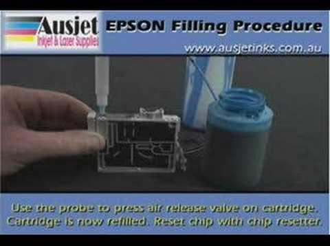 Epson Refilling Video