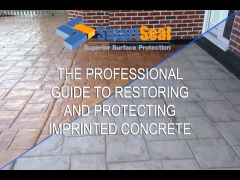 (full version) EXPERT GUIDE Cleaning, Sealing & Repair Pattern Imprinted Concrete