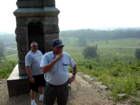 Gettysburg - Little Round Top - by tour guide Gary Kross - this guy is captivating