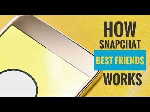 How Snapchat Best Friends Works