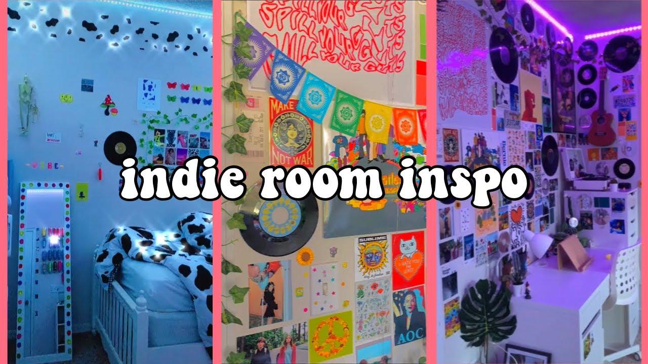 🌱🌈🍄indie aesthetic room inspiration tiktoks   how to make your room indie+indie room diys 🍄🌈🌱