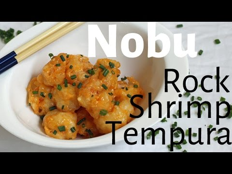 Nobu - Rock Shrimp Tempura - City Cookin'