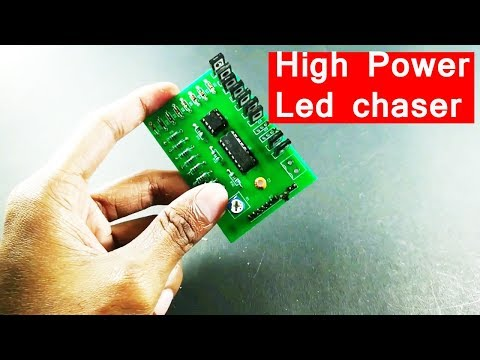 make high power led chaser for light board driver PCB Prototype