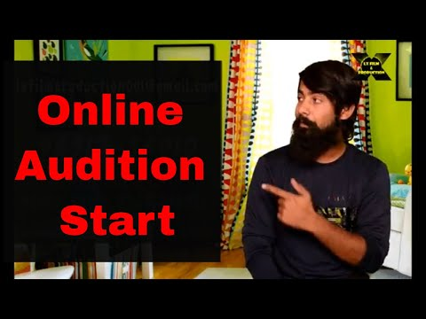 Online Bollywood Movie Audition Start / Audition Tips / Casting call / Film Audition 2018